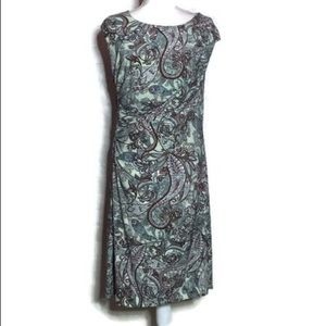 Est 1962 Green Paisley Dress, NWOT, XL